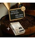 Pack sélection de cafés exclusifs + 100 capsules vides Nespresso