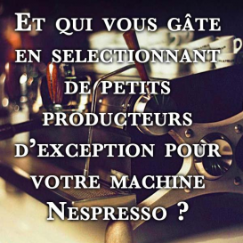 Petit message de The Coffee Lovers