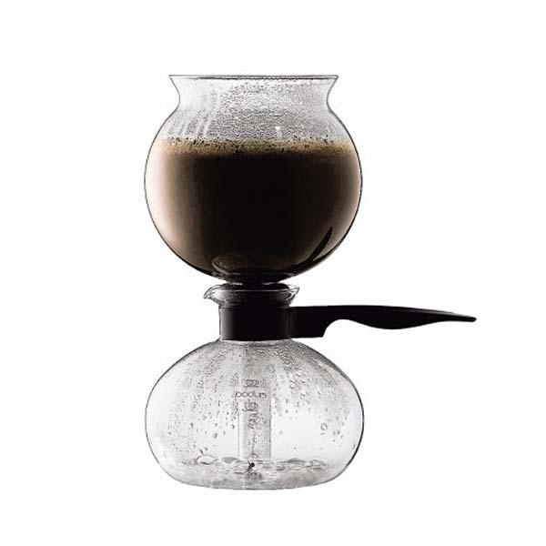 Café arôme corsé - Cafetière siphon - dépression - Cona
