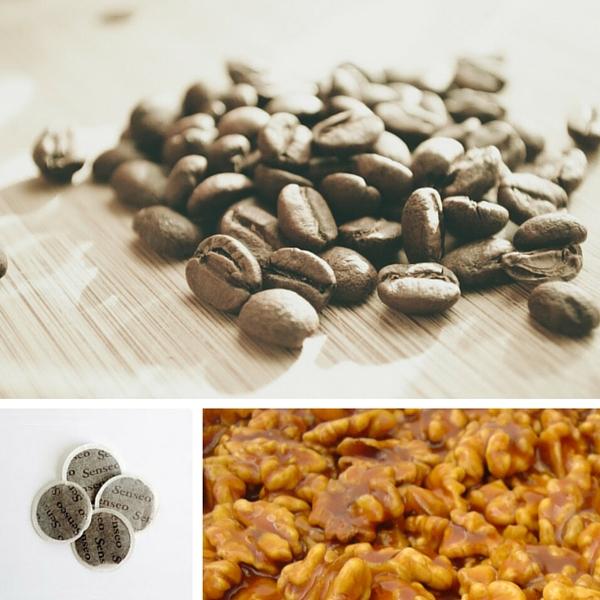 Café Caramel et Noix - 18 dosettes Senseo