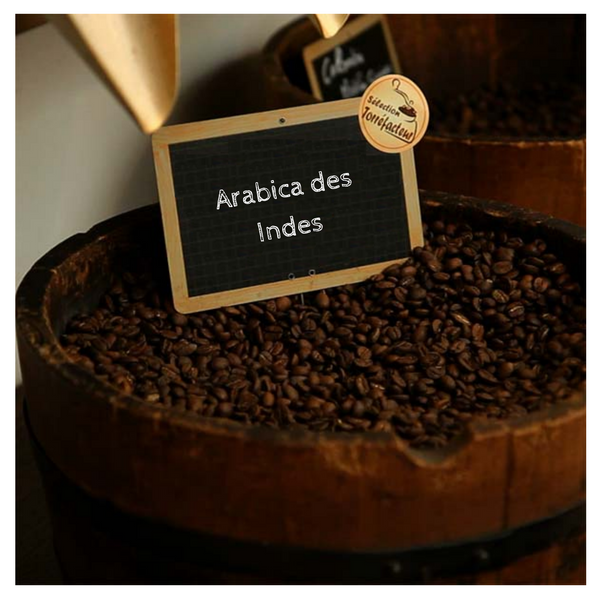 Arabica des Indes-en grain ou moulu