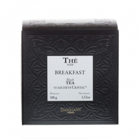 Thé Noir Breakfast Tea, 50 sachets