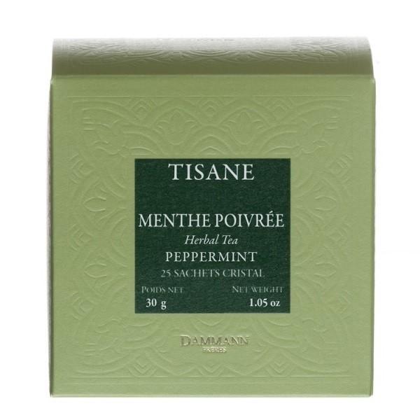 Tisane Menthe Poivrée Dammann, boîte