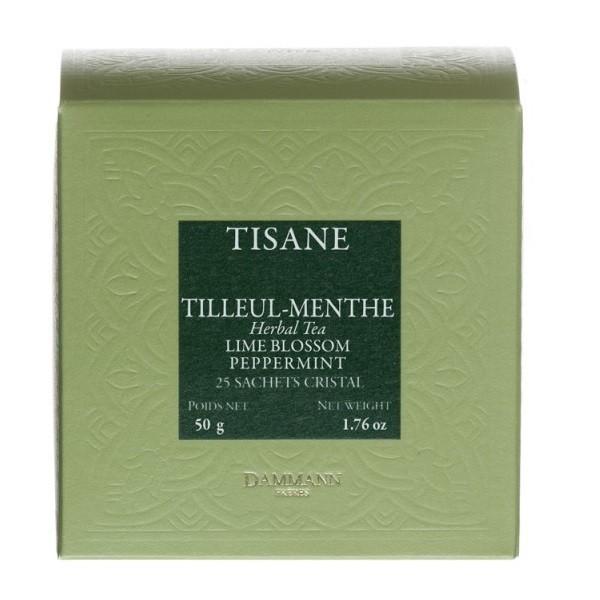Tisane Tilleul Menthe Dammann, boîte
