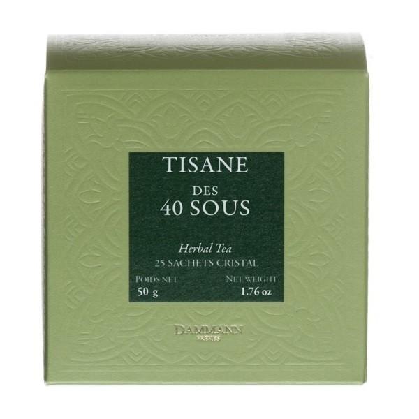 Tisane des 40 Sous Dammann, boîte