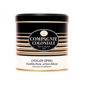 Ceylan OPHG Compagnie Coloniale, boîte métal