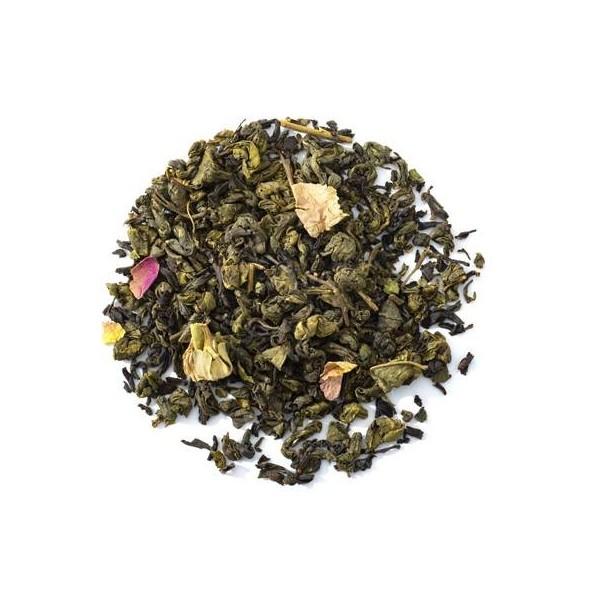 SIDI KAOUKI - Thé vert aromatisé BIO George Cannon - Feuilles
