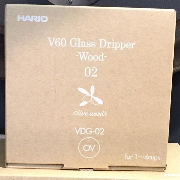 Dripper Hario V60 boîte