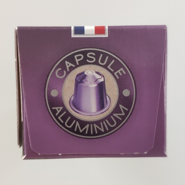 Blend des Monts Africain, 10 capsules compatibles Nespresso allu